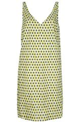 Marni Star Dress in Yellow (green) - Lyst