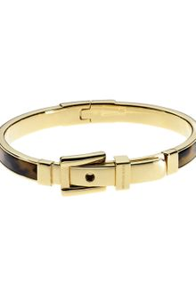 Michael Kors Buckle Bangle Tortoise - Lyst