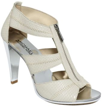 Michael Kors Berkley T Strap Sandals - Lyst