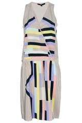 Tibi Sleeveless Dress - Lyst