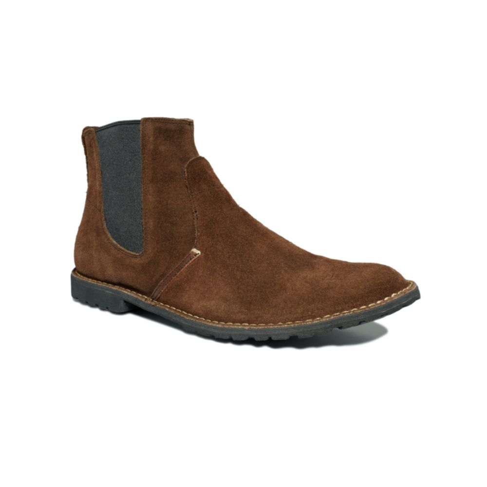 timberland earthkeepers chelsea boots in brown for