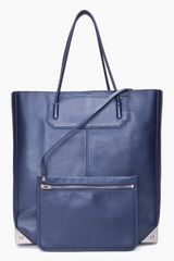 Alexander Wang Midnight Blue Prisma Tote in Blue (midnight) - Lyst