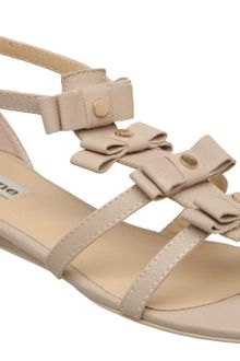 Dune Joy Four Bow Flat Sandals - Lyst