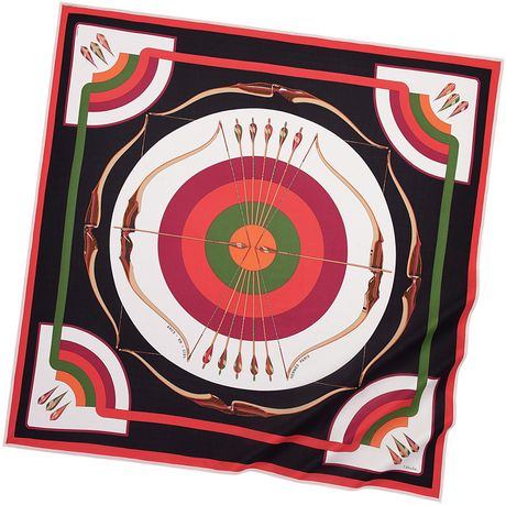 Hermes Scarves Hermès Jersey Silk in Multicolor - Lyst