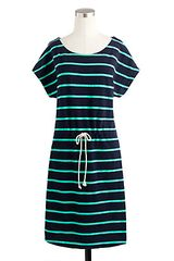 J.Crew Drawstring Tunic in Stripe - Lyst