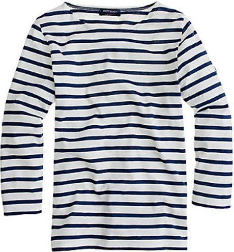 J.crew Saint James Galathée Tee in Blue (navy) - Lyst