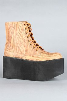 Jeffrey Campbell The Bounce Boot in Wood Print - Lyst