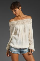 Jen's Pirate Booty Paradise Cove Off Shoulder Top - Lyst