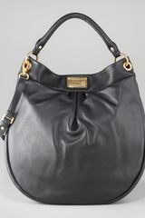 Marc By Marc Jacobs Huge Hillier Hobo Black - Lyst