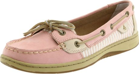Sperry Top-sider Sperry Topsider Womens Angelfish Shoe in Pink (blush