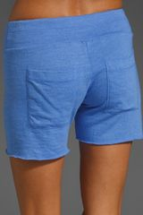 Splendid Active Always Sweatshorts in Blue (cobalt) - Lyst