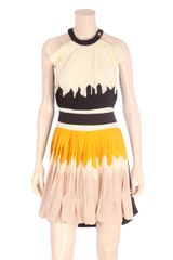 Vionnet Pleated Dress - Lyst