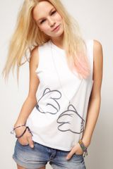 ASOS Collection Asos Tshirt with Mickey Back Pack - Lyst