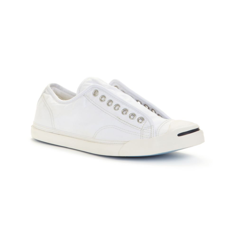 caf2918950a8 Lyst - Converse Jack Purcell Lp Salty Slip On Sneakers in White for Men