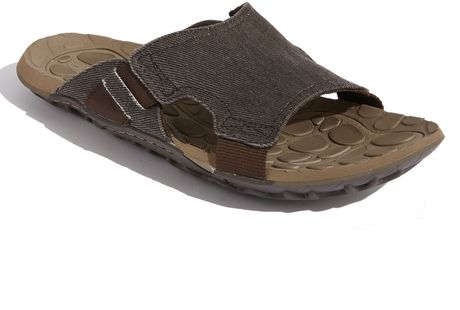 Cushe Evo Slide Sandal in Brown for Men (dark brown) - Lyst