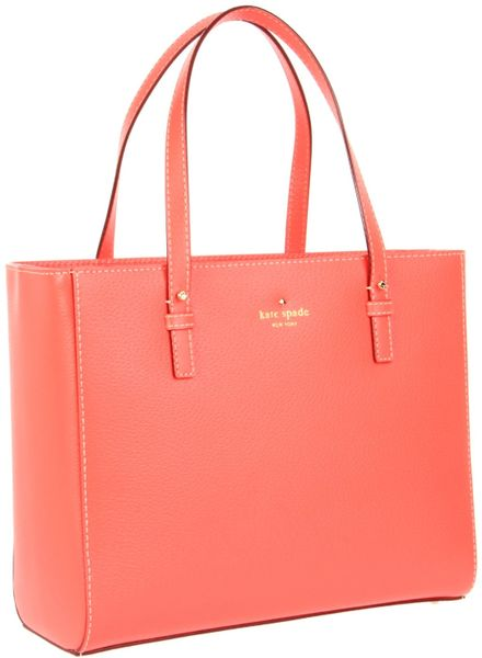 Kate Spade New York Grand Street Quinn Shoulder Bag in Pink (coral) - Lyst