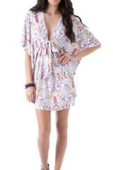 Mara Hoffman Beach Poncho Cover Up - Lyst