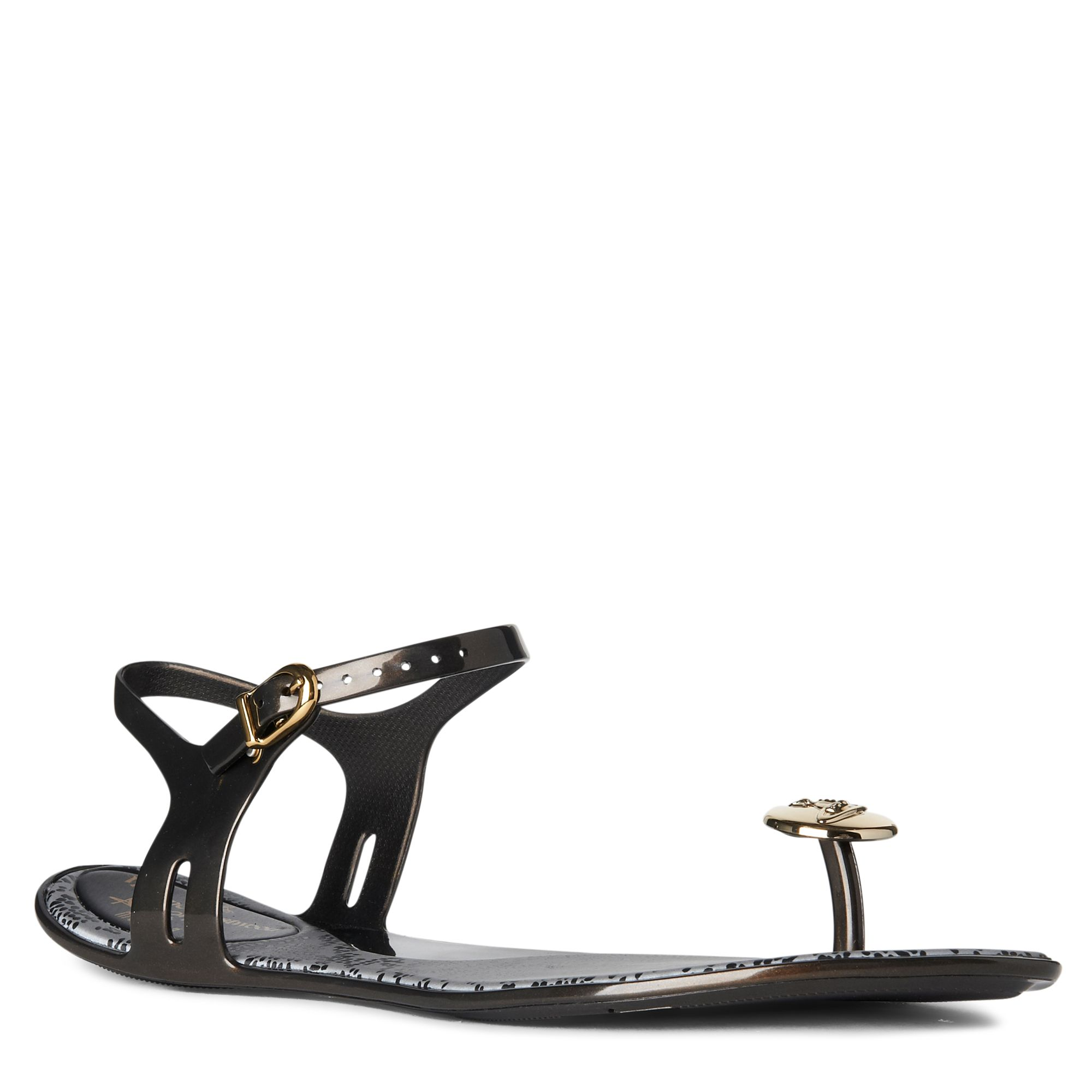 2ac7b512cf5845 Melissa + Vivienne Westwood Anglomania Button Toepost Sandals in ...