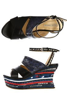 Opening Ceremony Jungle Wedge Sandals - Lyst