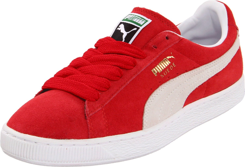 Puma Men S Suede Classic Fashion Red