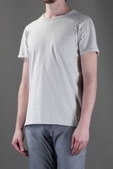 Ra-re Tshirt in Beige for Men (nude) - Lyst