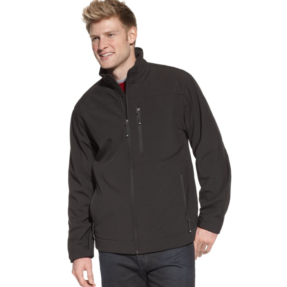 Weatherproof 32 Degrees Softshell Zip Jacket in Black for ...
