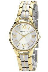 Ak Anne Klein Two Tone Bracelet Watch - Lyst