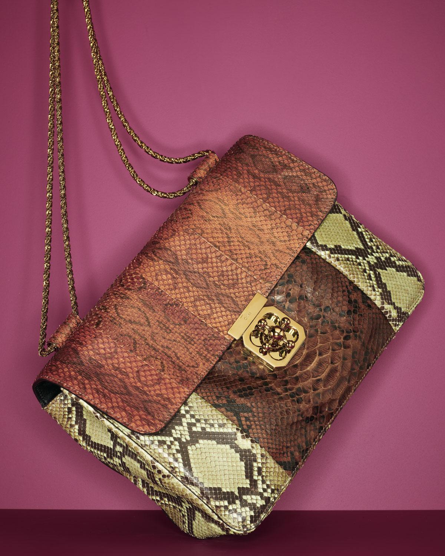 replica chloe bags - elsie mini bag in python