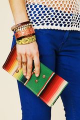 Free People Sun City Wallet in Multicolor (batik) - Lyst
