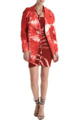 Isabel Marant Idini Jacket in Red - Lyst
