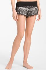 Make + Model Fringe Coverup Shorts - Lyst