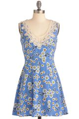 ModCloth Lotus Relaxation Dress - Lyst