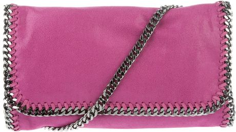 Stella Mccartney Falab Shoulder Bag in Pink (purple) - Lyst
