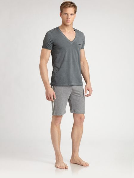 Diesel Cotton Jesse Tee in Gray for Men (grey) - Lyst