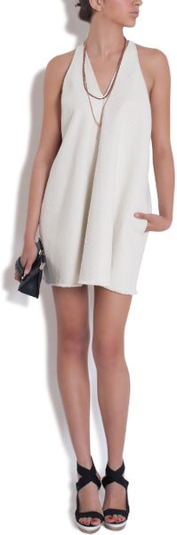3.1 Phillip Lim Kite Dress in White (powder) - Lyst