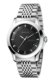 Gucci Mens Swiss Stainless Steel Bracelet Watch - Lyst