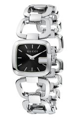 Gucci Swiss GGucci Stainless Steel Bracelet 24mm - Lyst
