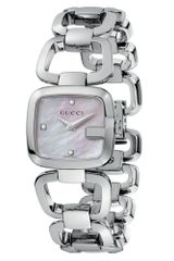 Gucci  Swiss Stainless Steel Bracelet 25mm - Lyst