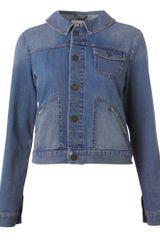 Hobbs Wells Denim Jacket in Blue (indigo) - Lyst