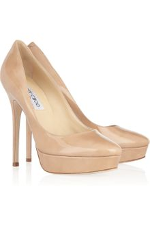 Jimmy Choo Cosmic Patentleather Pumps - Lyst