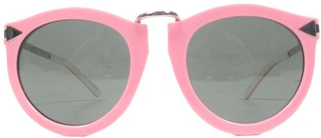 Karen Walker Harvest Sunglasses Pink in Pink - Lyst