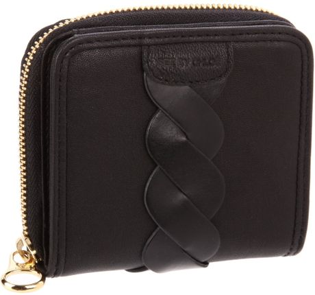 See By Chloé See By Chloe Twirl Wallet Zipper in Black - Lyst