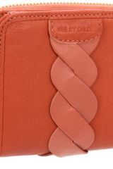 See By Chloé See By Chloe Twirl Wallet Zipper in Red (terracotta) - Lyst