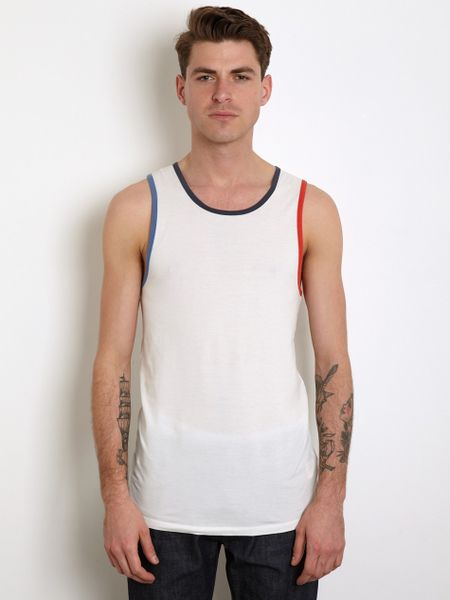 This Is Not A Polo Shirt Cotton Vest in White for Men | Lyst