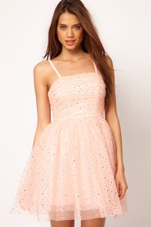 ASOS Collection Asos Party Dress in Sequin Mesh - Lyst