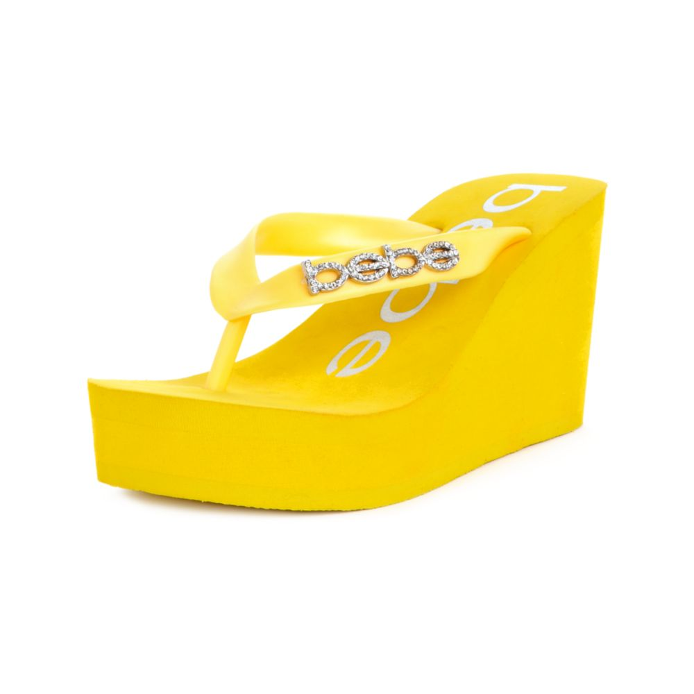 Yellow Sandals River Island
