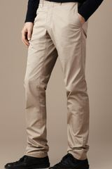Burberry Brit Slim Fit Cotton Chino Trousers - Lyst