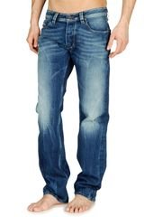Diesel Larkee in Blue for Men (denim) - Lyst