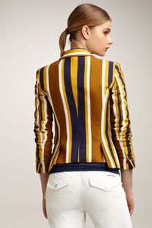 DSquared2 Striped Blazer - Lyst