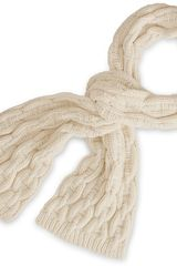 Hermes Chaîne Dancre Scarf in Beige for Men (chalk) - Lyst